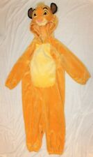 Disney Store Simba Lion King One Piece Halloween Plush Costume Toddler 4T