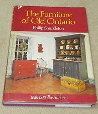 The Furniture of Old Ontario - Antique Reference