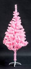 Alberi di Natale rosa in plastica