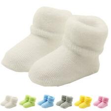 Color caramella bambino del Calzini anti-scivolo caldo neonati spesso INVERNO
