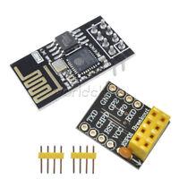 ESP8266 ESP-01S Serial WIFI Wireless Module+Breadboard Adapter PCB Breakout US
