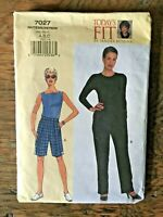 Vogue 7027 Misses Shorts Pants Pattern Todays Fit by Sandra Betzina UNCUT FF