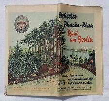Neuester PHARUS-Plan RUND UM BERLIN (Ausgabe 1947)