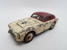 Vintage Dinky 167 A.C.Aceca Sports Coupé Cream & Maroon spun hubs 1958 - 63