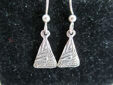 PACIFIC NORTHWEST STERLING SILVER EARRINGS