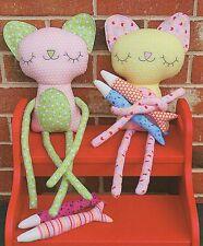 PILCHARD & PERCH  Sewing Craft PATTERN - Cat Fish Soft Toy Felt Rag Doll Bear