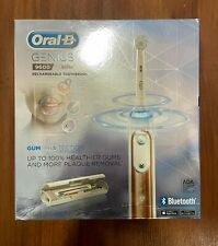 Braun Oral-B Genius 9600 Rechargeable Electric Toothbrush, Rose Gold
