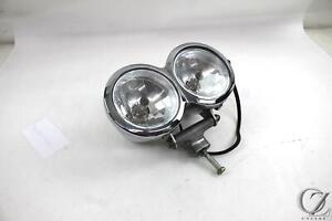 09 Harley Dyna Fat Bob FXDF Headlight Lamp Dual Lens