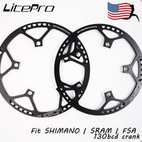 Litepro 130BCD 45-58T Aluminum alloy MTB Bike Chainring Bicycle Chainwheel Bolts