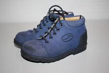 SUPERFIT Lauflernschuhe echtleder Halbschuhe echt Leder Boots Gr.21 blau TOP