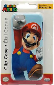 Nintendo 3D Super Mario Bros Clip Case for Apple iPhone 5c Slim Design Collector