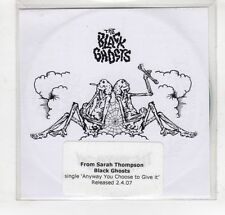 (GM965) The Black Ghosts, Anyway You Choose To Give It - 2007 DJ CD
