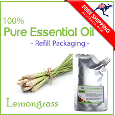 Lemongrass Essential Oil 100% Pure Natural  50ml, 100ml Refill Packaging