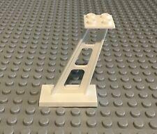 20 x NUOVO COSTRUZIONI LEGO 87552 PANNELLO BIANCO 1x2x2 con supporti laterali GRATIS P /& P