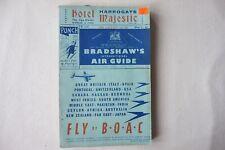 April 1952 Original Bradshaws International Air Guide Timetable Handbook