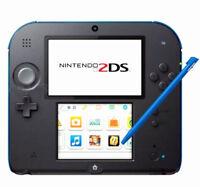 4pcs Stylus For Nintendo 2DS Slot in Touch Pen Set Red Blue White & Black BS