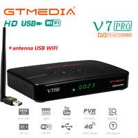 GTMEDIA Terrestre Ricevitore V7PRO Tivusat Satellitare Box Full HD DVB-S2/S2X/T2