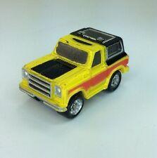Micro Machines Lot Vehicle 1969 Chevrolet Blazer #15 Rare Chevy SUV Truck Yellow