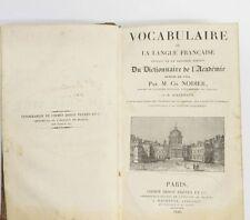 Originale französische antiquarische Bücher