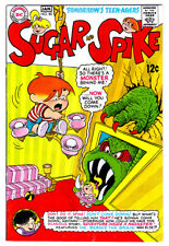 SUGAR AND SPIKE #80 in VF condition 1968 DC Silver Age humor comic