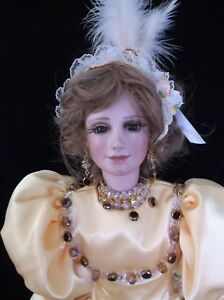 dolls, brand, character, Bell Ceramics, porcelain, contemporary, reproduction