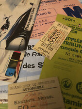 More details for motor racing - formula 1 - collectable entry tickets * choose from list*