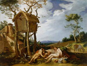 Abraham Bloemaert Parable of the Wheat and the Tares Poster Giclee Canvas Print