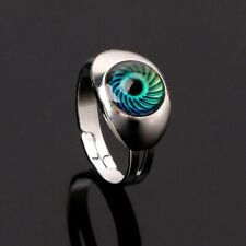 Women Men Magic Eye Shape Change Mood Ring Emotion Feeling Temperature Rings
