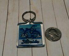 Acrylic Florida Dolphin souvenir Keychain Fob