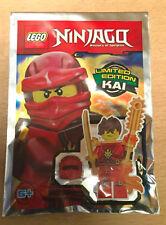 SET POLYBAG LEGO SERIE NINJAGO FIGURINE FIGURE KAI NINJA ROUGE  minifig