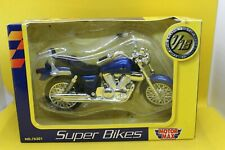 1:18 Motor Max Super Bikes Kawasaki Vulcan Blue