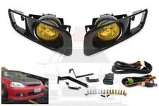 99-00 Honda Civic YELLOW Fog Light Lamp 2/3/4 dr EK/EM/EJ9/EK3/EK4