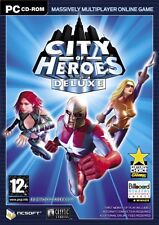 City of Heroes Deluxe PC Game Boxed Edition MMORPG Superheroes