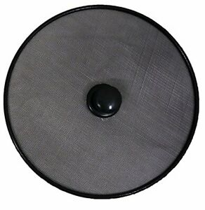 Quality Frying Pan Splatter Screen Guard Frying Pan Round Black Mesh Cover 28cm