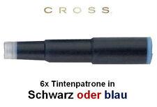 CROSS Füllfederhaltertintenpatronen, in SCHWARZ oder BLAU, Tintenpatrone 8920/21