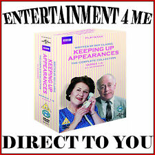KEEPING UP APPEARANCES -COMPLETE COLLECTION SERIES 1 - 5  *BRAND NEW DVD BOXSET*