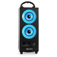 tragbarer Bluetooth Lautsprecher mit Radio MP3 USB/SD Subwoofer Sound System