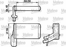 Heater Matrix FOR VW CORRADO 1.8 2.0 2.9 88->95 CHOICE1/2 Coupe Petrol Valeo