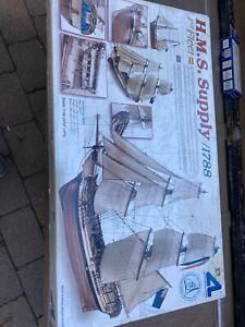 Artesana Latina H.M.S. Supply Wooden Ship Model Kit High End Classic