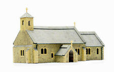 Dapol OO Gauge Village Church Unpainted Plastic Kit C029