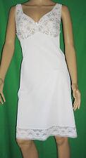 Omas Romantic 60/70er Vintage Perlon/Nylon-Petticoat-Un derskirt Size 44 (605