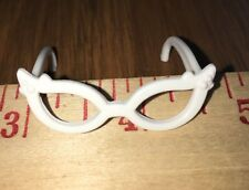 Ghoulia Yelps White 60's Style Cat Eye Glasses Sunglasses Monster High Fashion