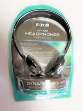 Maxell HP-100 Headband Headphones - Black