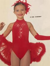 Christmas Dance Costume Tap  Ballet Skate  Parade Pageant  Cherry