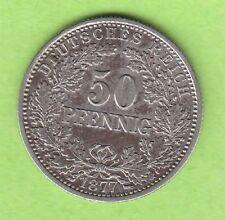 Kaiserreich 50 Pfennig 1877 G Jaeger 8 fast vz hübsch nswleipzig