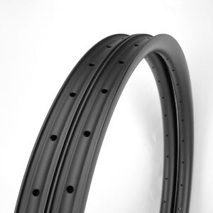 "SALE Asymmetric 35mm Width Carbon Fiber 29"" MTB Clincher Bike Rim Tubeless 1PAIR"