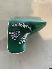 Tour Issue TaylorMade Limited Edition 2020 Masters Putter Cover Blade Style
