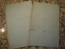 Very Rare 'Frontier Features' Scripts for The Guiding Hand, c. 1919-20.