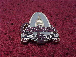 2011 St Louis Cardinals 18th World Series Media Press Pin - Texas Rangers