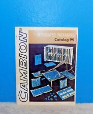 1970 Cambion Integrated Packaging Products Catalog 99 Free Shipping